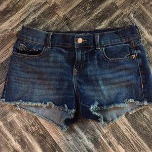 Old Navy Boyfriend Cut-Off Jean Shorts (2)